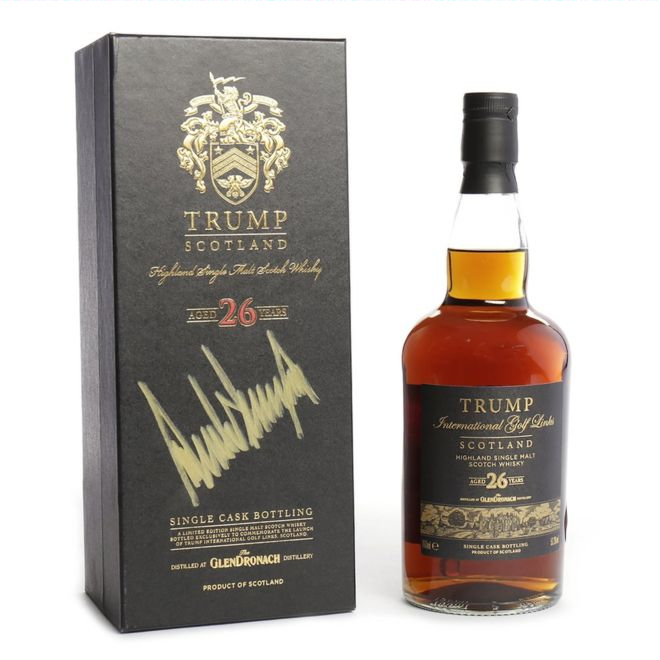 President whisky to be auctioned