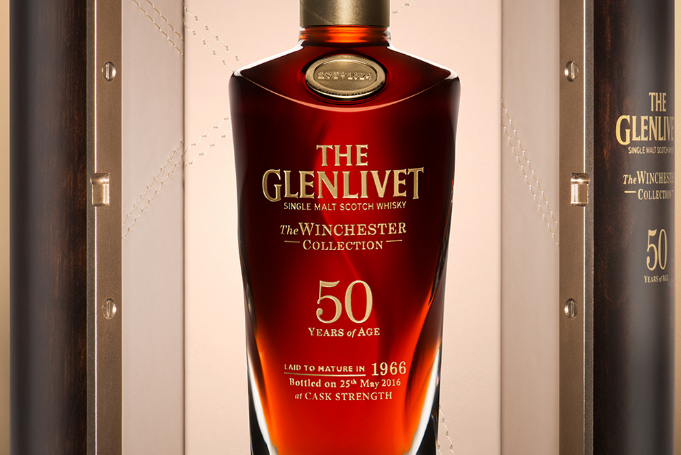 Glenlivet 1966 50yo Winchester Collection