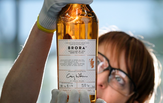 The Oldest Brora Sold at an Auction