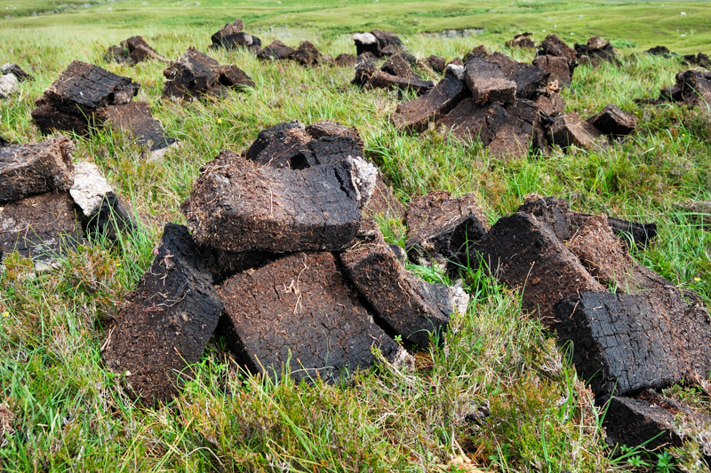 The peat season's on