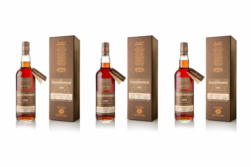New single cask expressions from GlenDronach