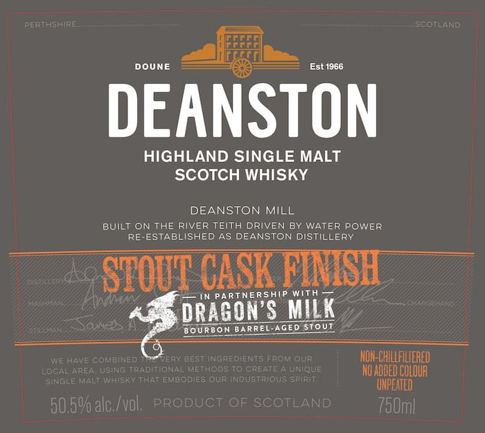 Deanston Stout Cask Finish