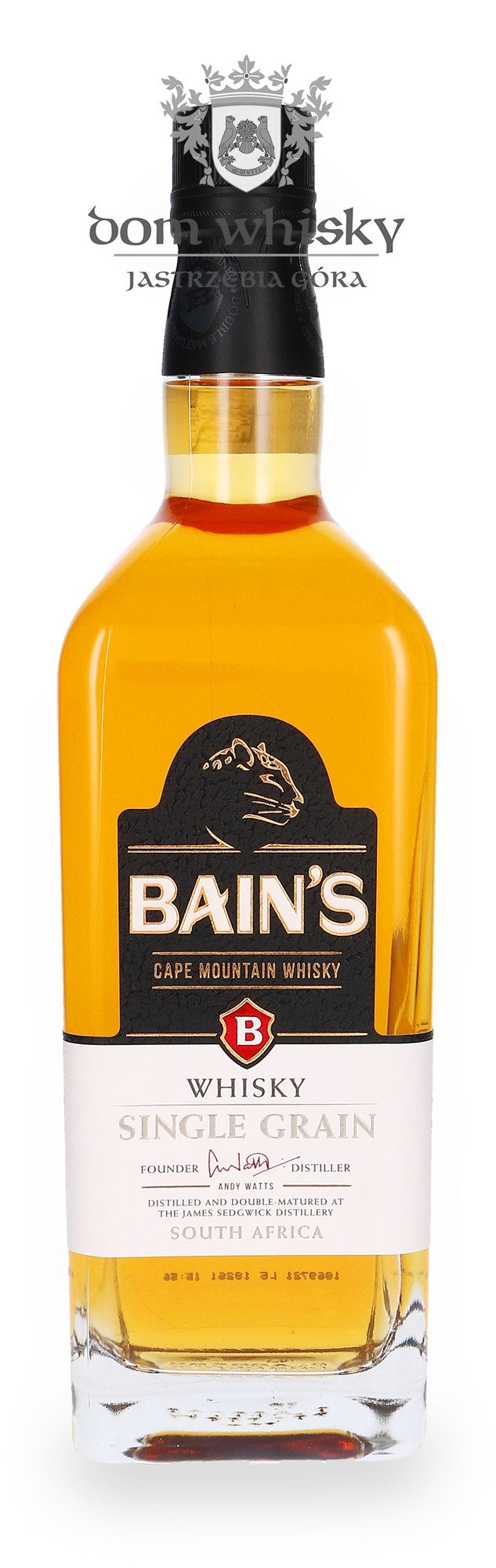 Bain s cape mountain single grain south africa 40 0 for Bain s whisky