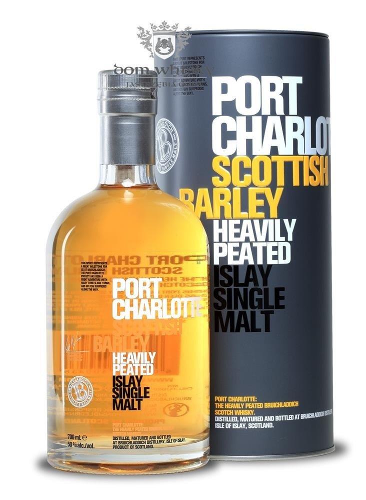 Bruichladdich port charlotte scottish barley 50 0 7l scotch whisky single malt whisky - Bruichladdich port charlotte ...