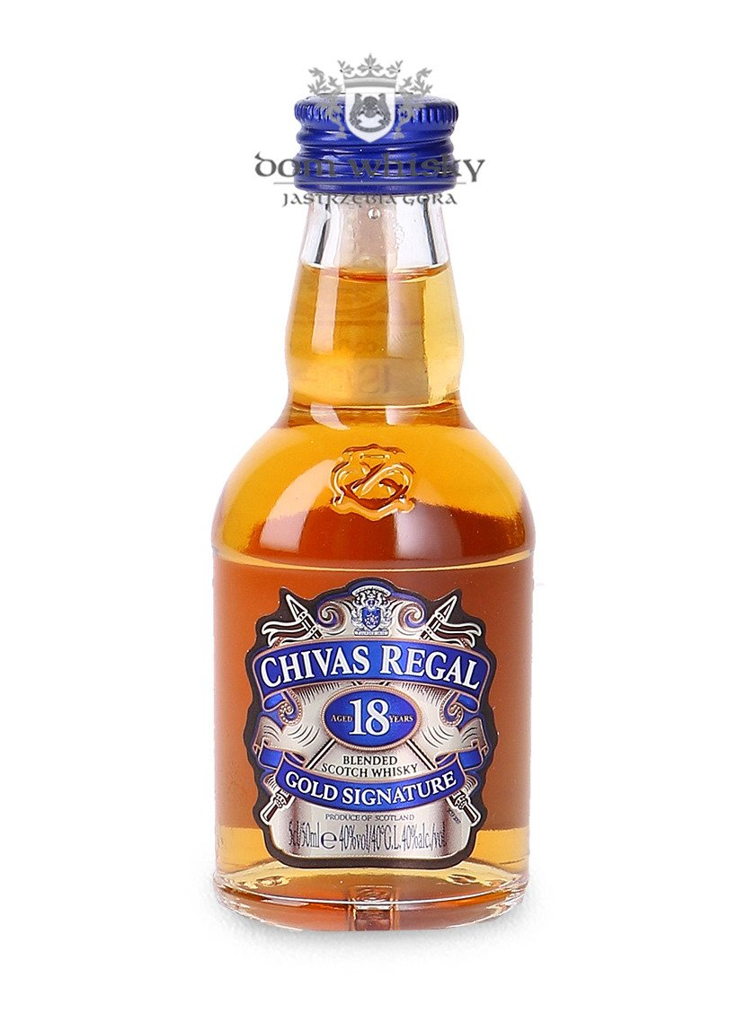 Chivas regal 18 letni gold signature 40 0 05l scotch whisky blended whisky tytu - Chivas regal 18 1 liter price ...