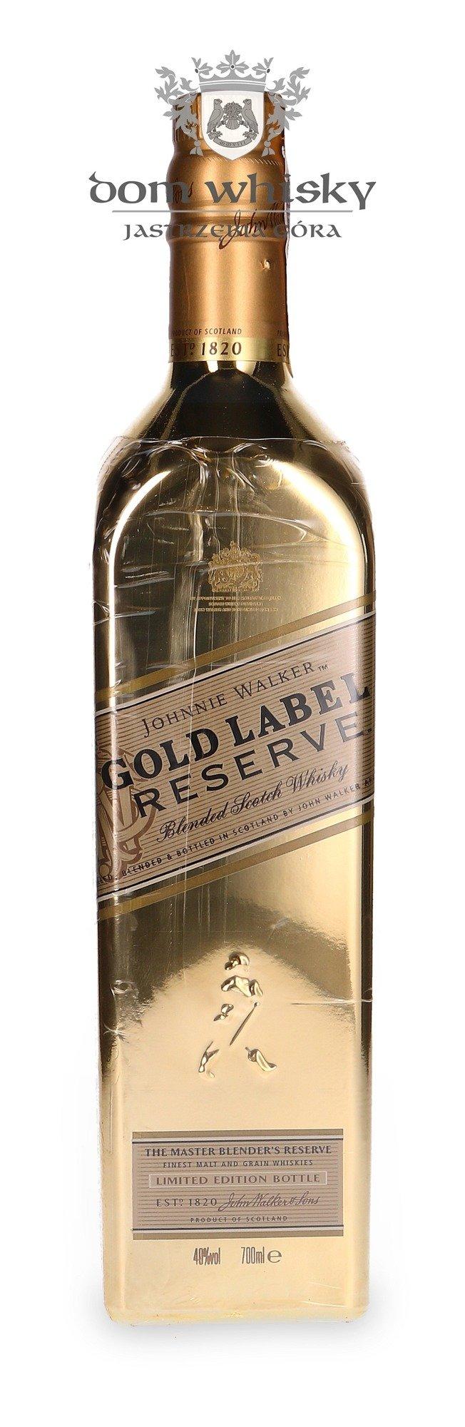 Johnnie Walker Gold Label Golden Bottle 40 07l