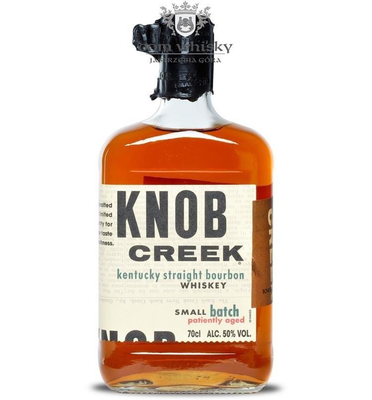 knob creek bourbon small batch patienty aged 50 07l
