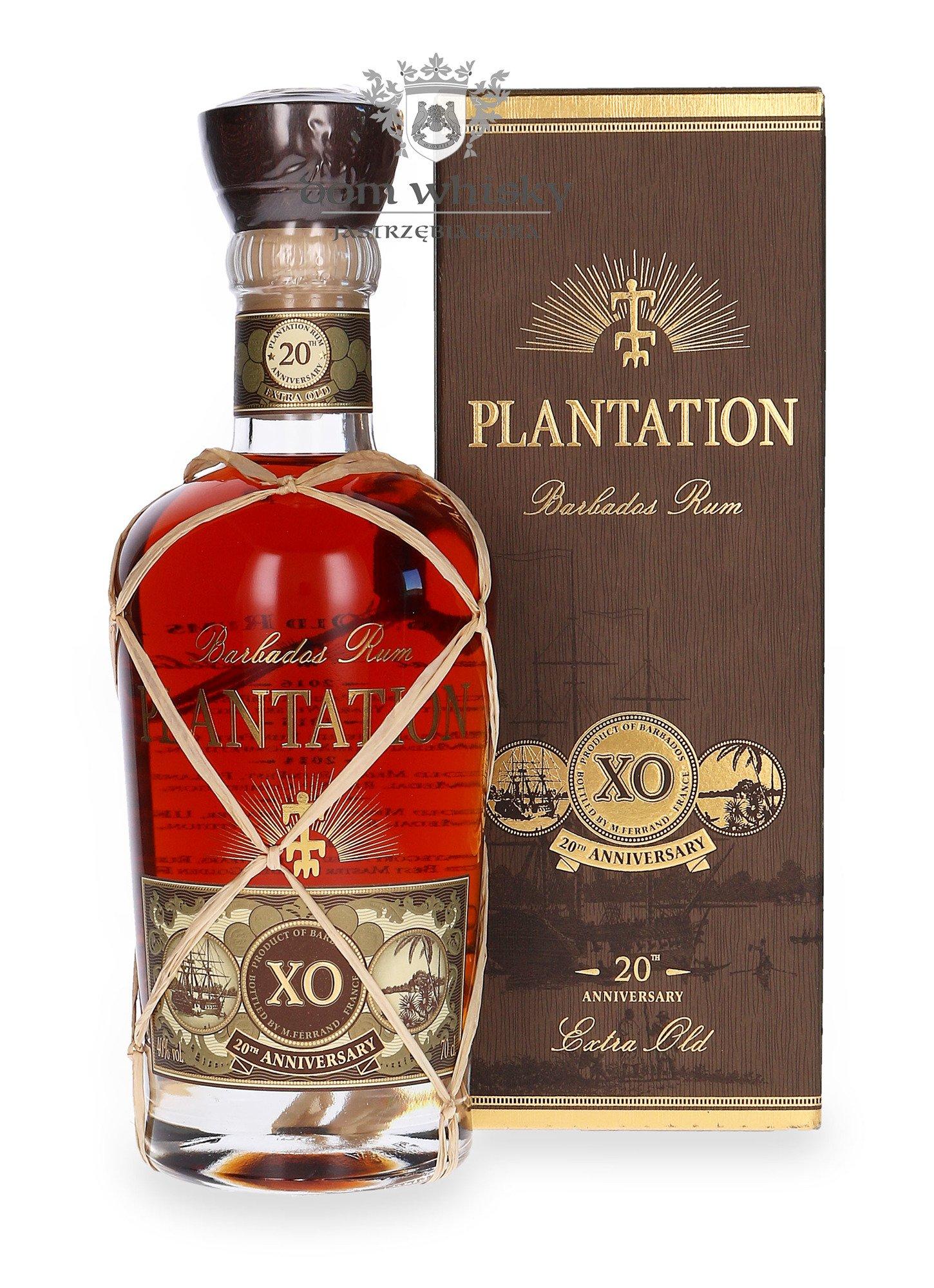 Plantation Barbados XO Rum 20 Anniversary / 40% / 0,7l ...