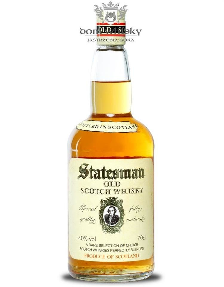 Black Label Price >> Statesman Blended Scotch Whisky, 3-letni / 40% / 0,7l | Scotch Whisky \ Blended whisky | Tytuł ...