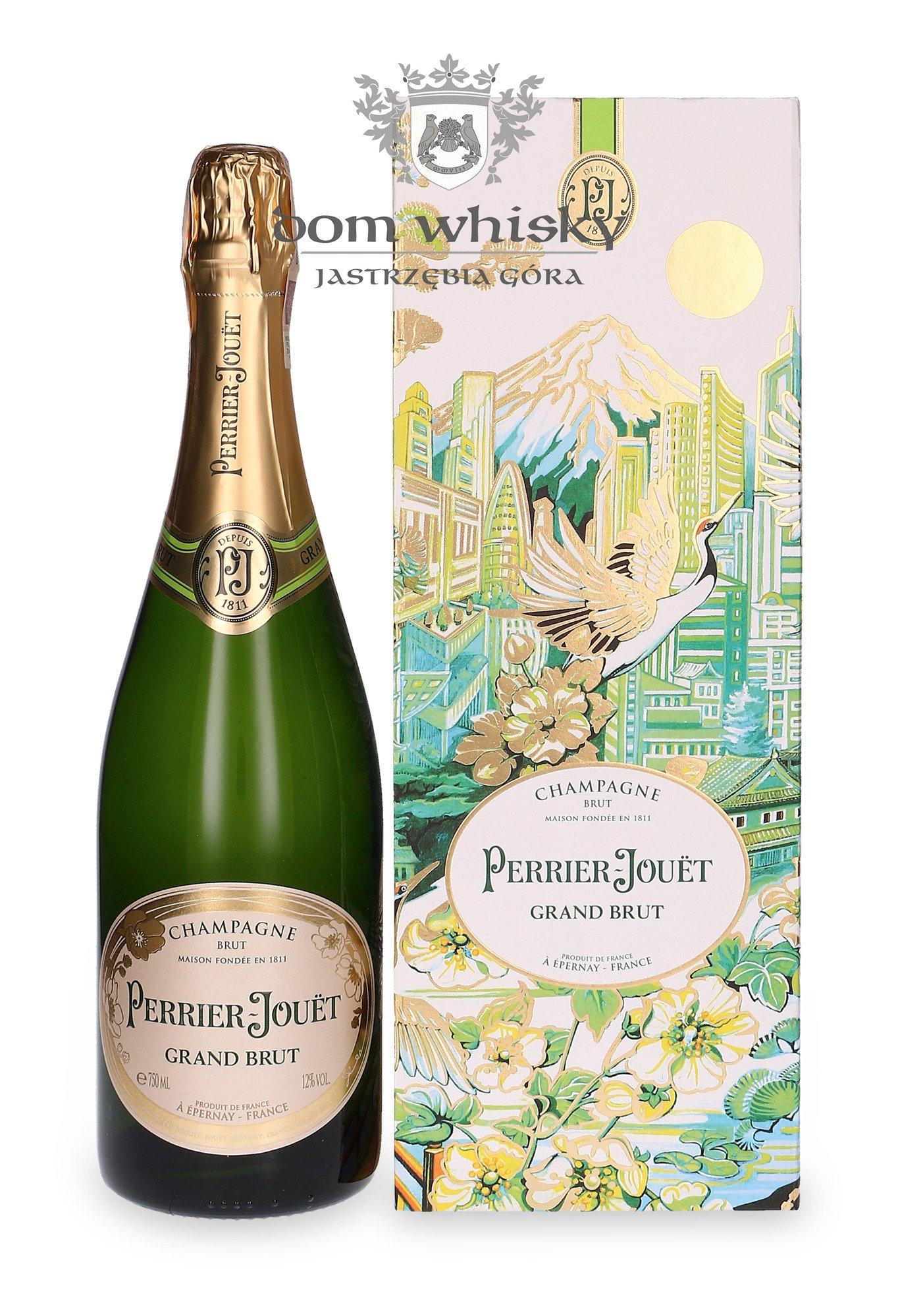 Szampan Perrier-Jouet Grand Brut City Gift Box / 12,5% / 0