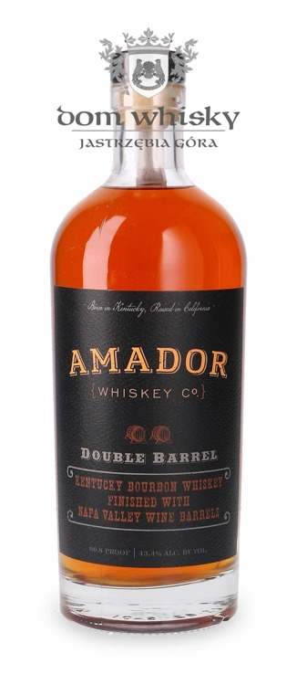 Amador Double Barrel Bourbon Whiskey / 43,4%/ 0,75l
