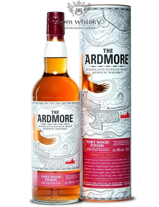 Ardmore 12-letni Port Wood Finish / 46% / 0,7l