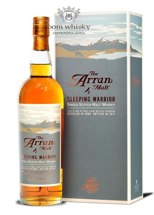 Arran 2000 Sleeping Warrior (Bottled 2011) / 54,9% / 0,7l