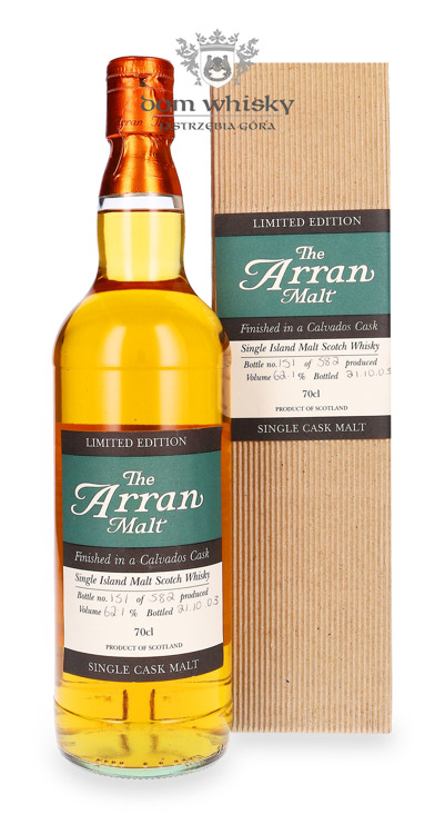 Arran Calvados Cask Finish (Bottled 2003) / 61,1% / 0,7l