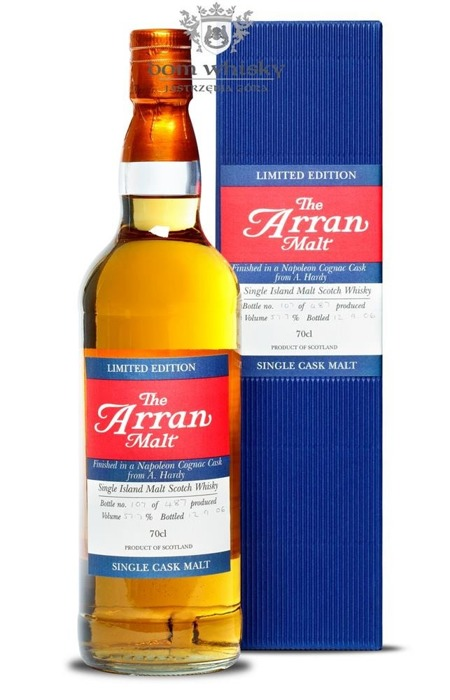 Arran Finished in a Napoleon Cognac Cask from A. Hardy/57,7%/0,7