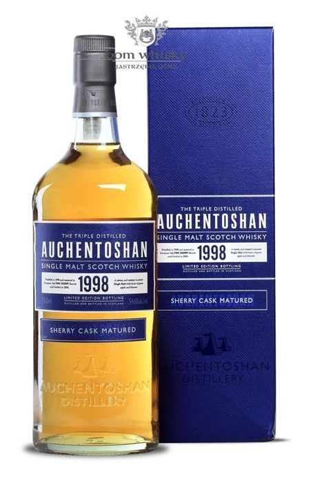 Auchentoshan 1998 Sherry Cask Matured (Bottled 2010) /54,6%/0,7
