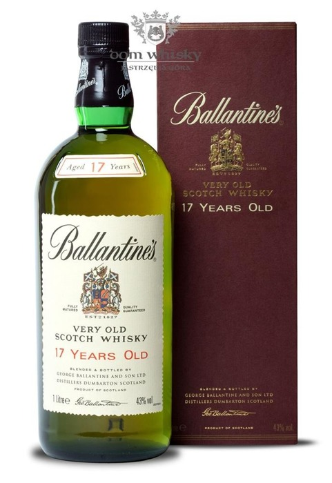 Ballantine's 17-letni Old Label / 43% / 1,0l