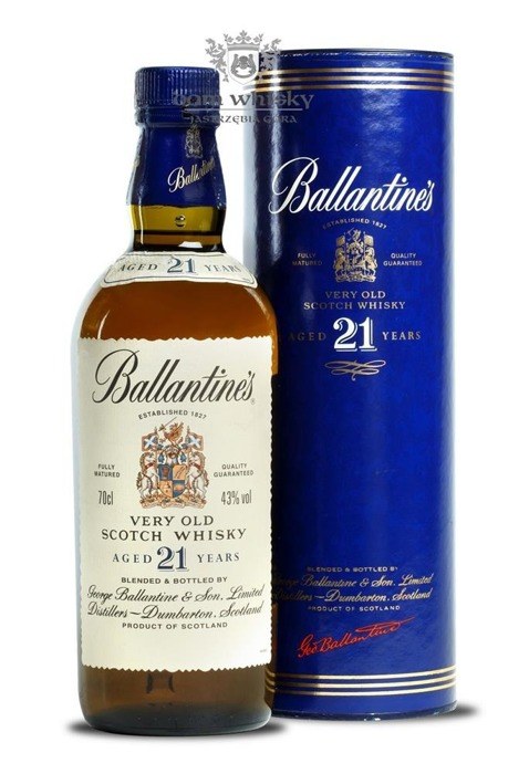 Ballantine's 21 letni Old Label / Tuba / 43% / 0,7l
