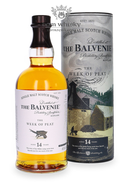 Balvenie 14-letni The Week of Peat / 48,3%/ 0,7l