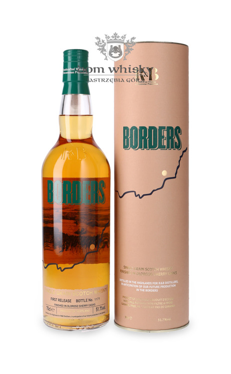 Borders Single Grain 1st Release Oloroso Sherry Finish /51,7%/ 0,7l