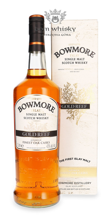 Bowmore Gold Reef / 43% / 1,0l