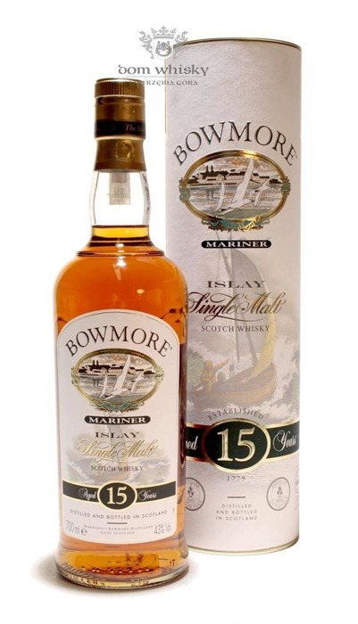 Bowmore Mariner, 15-letni (with Water Jug) / 43% / 0,7l