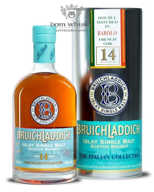 Bruichladdich 14 letni 1993 Barolo French Oak / It /46%/0,7l