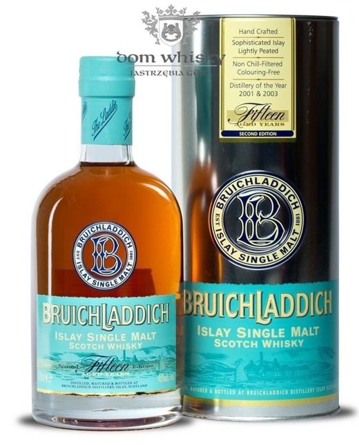 Bruichladdich 15 letni Fifteen Second Edition / 46% / 0,7l