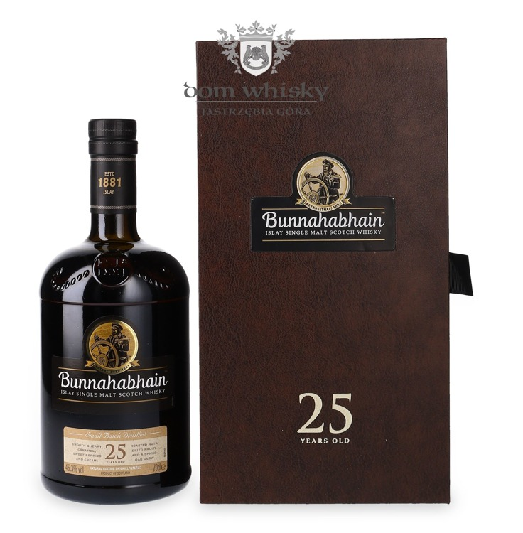 Bunnahabhain 25-letni Small Batch / 46,3% / 0,7l