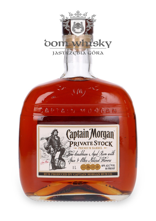 Captain Morgan Private Stock / 40% / 1,0l