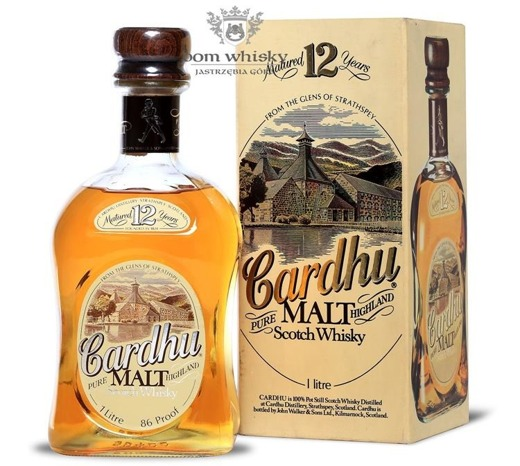 Cardhu 12-letni (Bottled by John Walker & Sons) /43%/1,0l