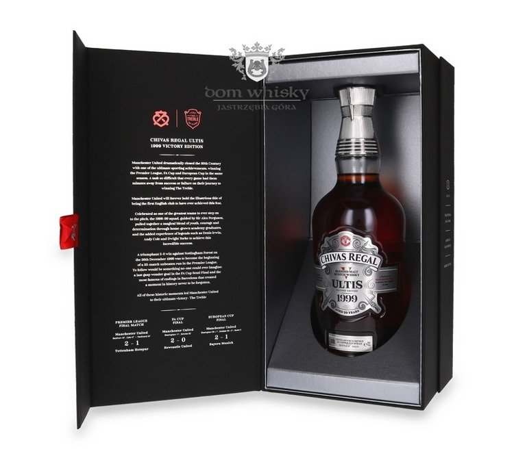 Chivas Regal Ultis 20-letni 1999 Victory Edition / 40%/ 0,7l