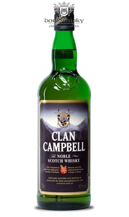 Clan Campbell The Noble Blended Scotch Whisky /40%/ 0,7l