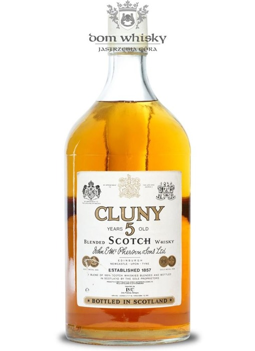 Cluny 5-letni Blended Scotch Whisky / 40% / 2,0l