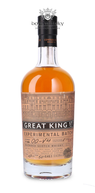 Compass Box Great King Street Experimental Batch 00-V4 / 43% / 0,5l