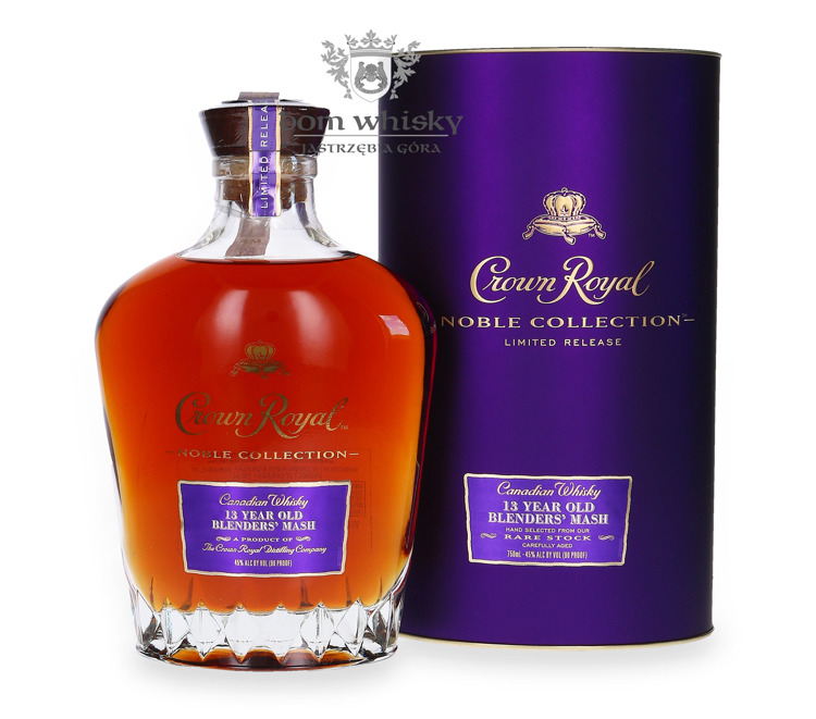 Crown Royal 13-letni Blenders' Mash, Noble Collection / 45%/ 0,75l