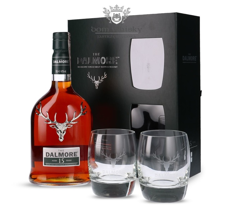 Dalmore 15-letni (with Tasting Glasses) / 40% / 0,7l