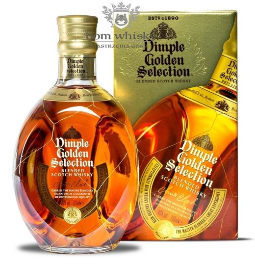 Dimple Golden Selection / 40% / 0,7l