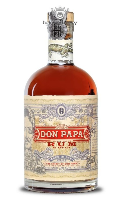 Don Papa Rum Philipines / 40% / 0,7l