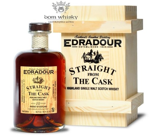 Edradour 2004, 10-letni Straight From The Cask (Sherry) / 60,7% / 0,5l
