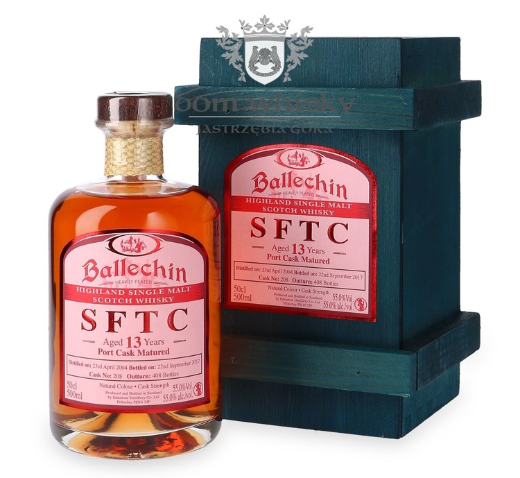 Edradour Ballechin 2004, 13-letni Straight from the Cask (Port) / 55% / 0,5l