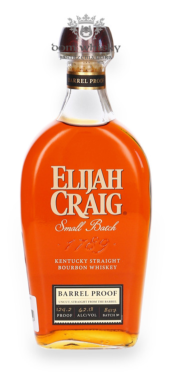 Elijah Craig Barrel Proof / 62,1% / 0,7l
