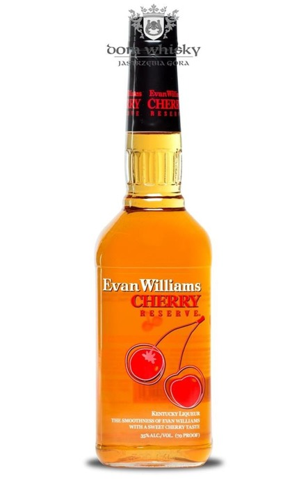 Evan Williams Kentucky Liqueur Cherry Reserve / 35% / 0,7l