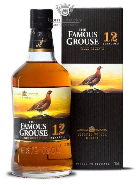 Famous Grouse 12-letni Gold Reserve / 40% / 0,7l