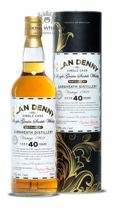 Garnheath 1969 Vintage, 40-letni The Clan Denny / 47,9% / 0,7l