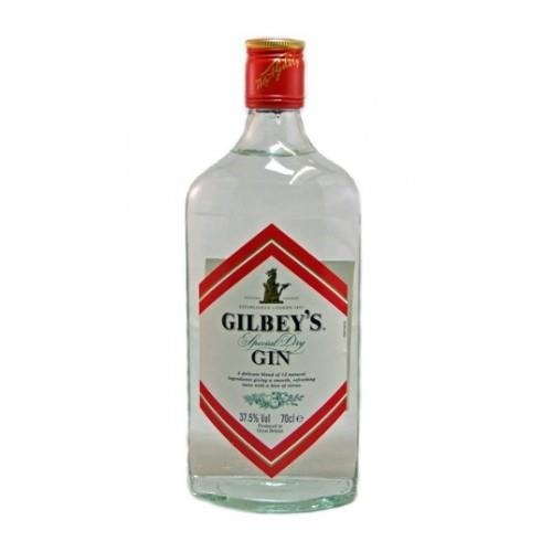Gilbey's Special Dry Gin (Great Britain) / 37,5%/ 0,7l