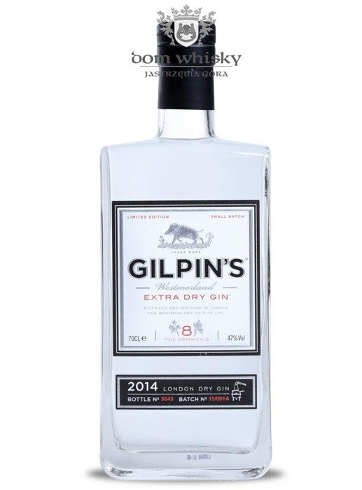 Gilpin's Westmorland Extra Dry London Dry Gin / 47% / 0,7l