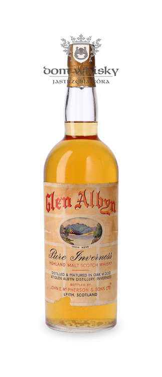 Glen Albyn Pure Inverness Malt 10-letni / 43,4% / 0,75l
