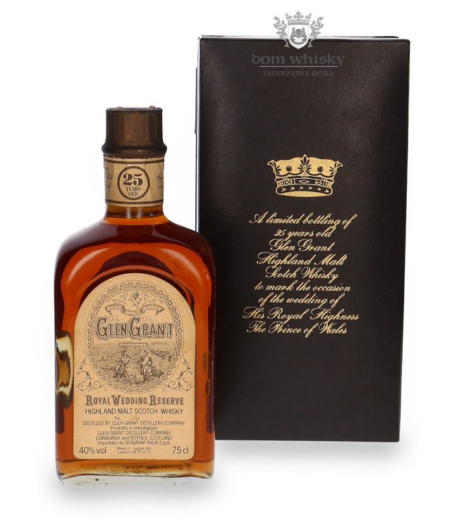 Glen Grant 25-letni, Royal Wedding Reserve / 40% / 0,75l