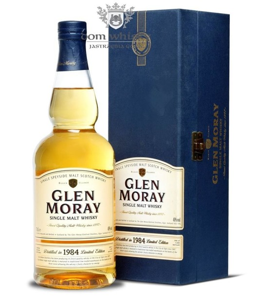 Glen Moray 1984 Limited Edition / 40% / 0,7l